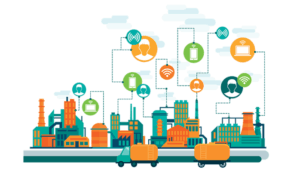 Connected IIOT city