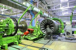 Industrial turbines