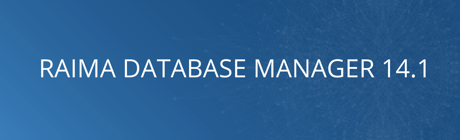 Raima database manager embedded database banner
